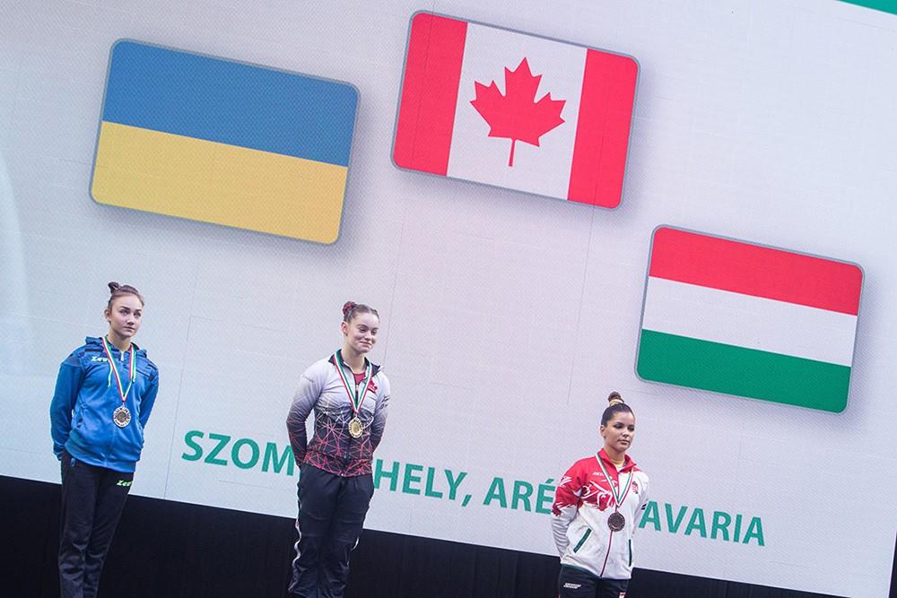 Két-két hazai ezüst és bronzérem a szombathelyi torna Grand Prix zárónapján