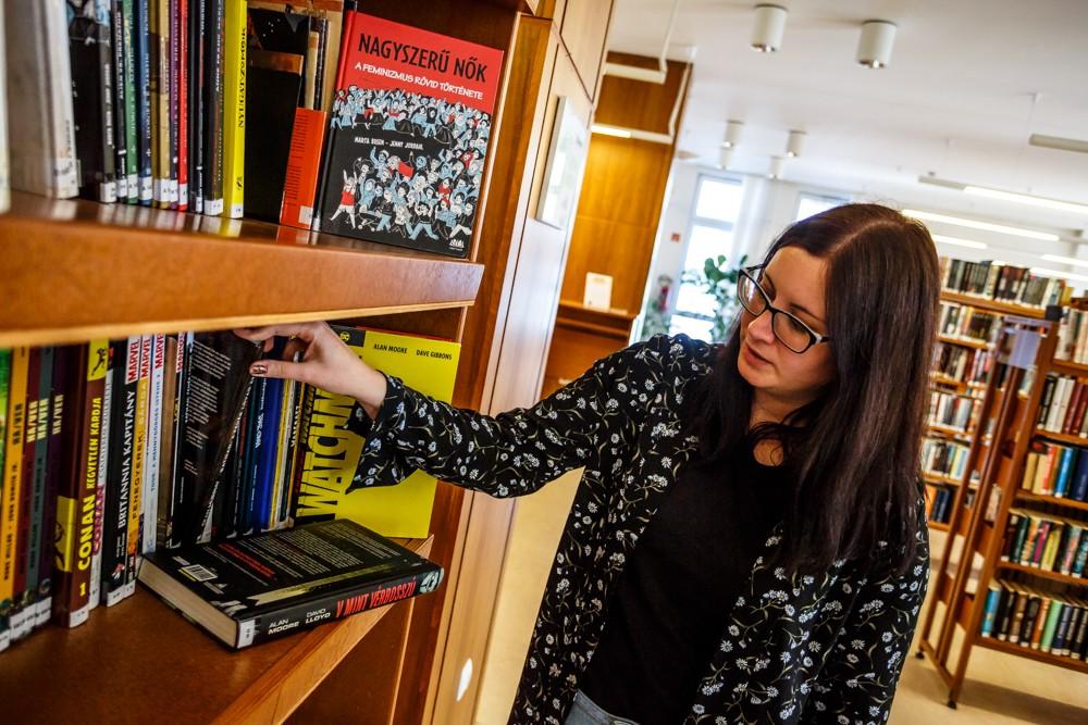 A szombathelyi könyvtáros útja Micimackótól a TikTok-os olvasásnépszerűsítésig