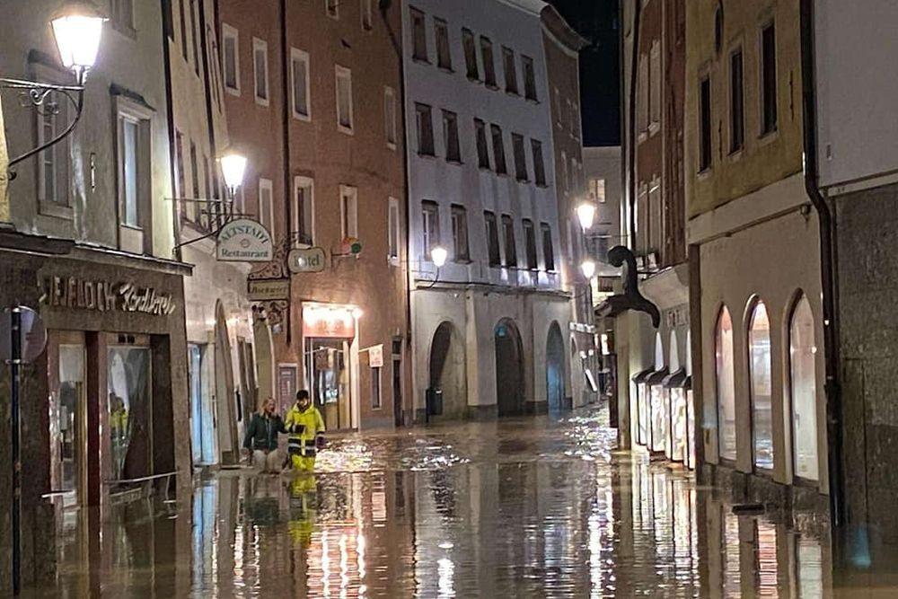 Ausztriában is komoly károkat okoznak az áradások